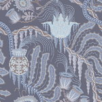 Ice Palace Blue wallpaper, matt coated
