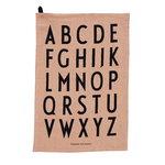 Design Letters Classic tea towel, set of 2, nude