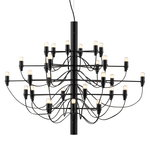 Flos 2097/30 chandelier, black