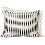 Ferm Living Way cushion, 70 x 50 cm, off white - dark blue
