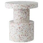 Normann Copenhagen Bit stool, white