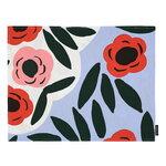 Marimekko Ruukku pinnoitettu kangastabletti, v.sininen - punainen - tumman