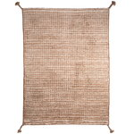 Woodnotes Grid rug, white - camel