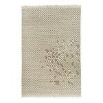 Anno Shogi villanukkamatto 200 x 300 cm, valkoinen - harmaa