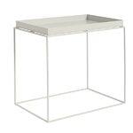 HAY Tray table rectangular, warm grey