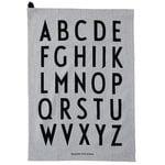 Design Letters Classic tea towel, set of 2, grey