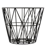 Ferm Living Wire basket, medium, black