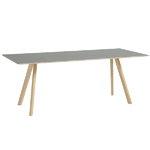 Hay Tavolo CPH30 200x90 cm, rovere lacc. opaco-lino grigio