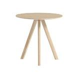 Hay CPH20 pyöreä pöytä 50 cm, mattalakattu tammi