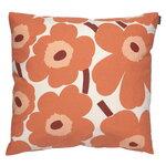 Marimekko Fodera per cuscino Pieni Unikko 50 x 50 cm, cotone - arancione -
