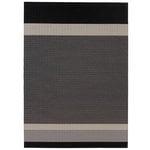 Woodnotes Tappeto Panorama, nero-grigio chiaro