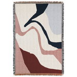Ferm Living Vista blanket, off white