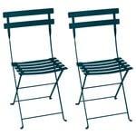 Fermob Bistro Metal chair, 2 pcs, acapulco blue