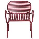 Petite Friture Week-end nojatuoli, burgundinpunainen