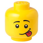 Room Copenhagen Lego Storage Head container, L, Silly