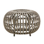 Sika-Design Franco Albini Exterior ottoman, small, moccacino