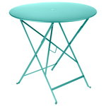 Fermob Bistro table 77 cm, lagoon blue
