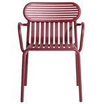 Petite Friture Week-end bridge chair, burgundy