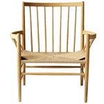 FDB Møbler J82 lounge chair, lacqured oak