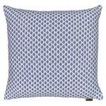 Langø Drops cushion cover, wool, denim-white