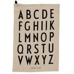 Design Letters Classic keittiöpyyhe, 2 kpl, beige