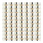 Woodnotes Duetto 1 rug, natural - white