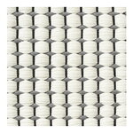 Woodnotes Duetto 4 rug, grey - white