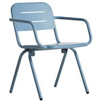 Woud Ray dining chair, blue