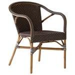 Sika-Design Madeleine tuoli käsinojilla, cappucino