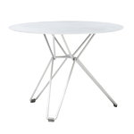 Massproductions Tio table small, white
