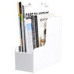 Palaset Magazine rack, white