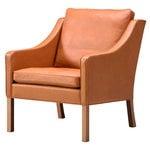 Fredericia Mogensen 2207 armchair, cognac - oiled oak