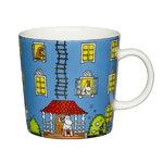 Arabia Moomin mug, Moominhouse