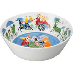 Arabia Moomin serving bowl, Friendship