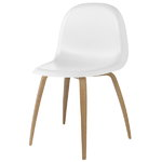 Gubi Gubi 5 chair, white-oak