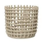 Ferm Living Ceramic kori, iso, cashmere