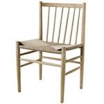 FDB Møbler J80 chair, lacquered oak