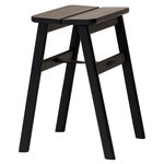 Form & Refine Angle stool, black stained oak