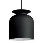 Gubi Ronde pendant 20 cm, charcoal black