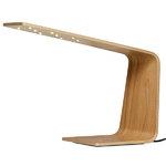 Tunto Led1 table lamp, oak