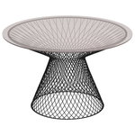 Emu Heaven table 120 cm, black, glass top