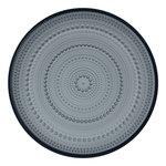 Iittala Kastehelmi plate 248 mm, dark grey