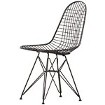 Vitra Wire Chair DKR, musta