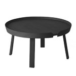 Muuto Around coffee table, large, black