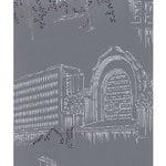 Pihlgren ja Ritola Carta da parati Helsinki, blu - grigio