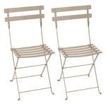Fermob Bistro Metal chair, 2 pcs, nutmeg