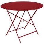 Fermob Bistro table 96 cm, chili