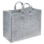Iittala Meno home bag large, grey felt