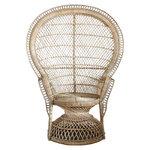 Parolan Rottinki Peacock-tuoli, luonnonvärinen
