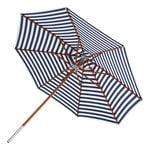 Skagerak Atlantis parasol ø 330 cm, striped, blue - white